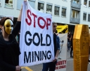 Ziua Internationala impotriva mineritului cu cianuri in Zurich, Elvetia