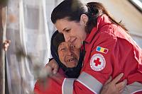 Crucea Rosie si Iuliana Tudor ofera sprijin sinistratilor din Vrancea