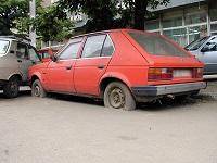 Abandonul de maşini din Bucureşti
