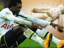 Fotbalistul Emmanuel Adebayor sustine ca mama sa l-a blestemat pentru a nu inscrie goluri