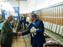 Premierul Dacian Cioloș s-a întâlnit cu un grup de sportivi, foști campioni olimpici