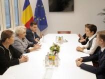 Întrevederea premierului Viorica Dăncilă cu Franziska Maria Keller și Philippe Lamberts, co-președinții Grupului Verzilor/Alianța Europa Liberă din Parlamentul European