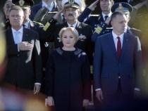 Premierul Viorica Dăncilă a participat la ceremonia militară dedicată Zilei Armatei Române
