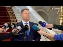 Iohannis: Voi aştepta decizia CCR în cazul numirii noilor miniştri