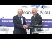 Meleşcanu şi omologul iordanian încurajează investiţiile reciproce în România şi Iordania