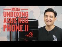 MEGA UNBOXING ASUS ROG PHONE 2