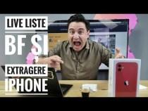 LIVE LISTE ȘI EXTRAGERE IPHONE – BLACK FRIDAY 2019