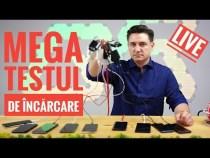 LIVE – MEGA TESTUL DE ÎNCĂRCARE – 10 TELEFOANE