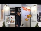 Cea mai inteligentă ușă are frigider și touchscreen –     ❄
