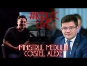 LIVE #IGDLCC 42 – MINISTRUL MEDIULUI COSTEL ALEXE DESPRE TAXA OXIGEN, PĂDURI, POLUARE ȘI AMENZILE UE