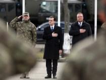 Vizita premierului Ludovic Orban la Brigada Multinațională Craiova și participarea la un prânz de lucru cu militarii din cadrul brigăzii