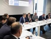 Întâlnirea premierului Ludovic Orban cu investitorii germani din România, în cadrul unei reuniuni organizate de Camera de Comerț Româno-Germană (AHK România)