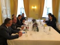 Întrevederea premierului Ludovic Orban cu vicepreședintele Comisiei Europene pentru valori și transparență, Vĕra Jourová