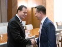 Întâlnirea premierului Ludovic Orban cu Eric Stewart, președinte la American Romanian Business Council