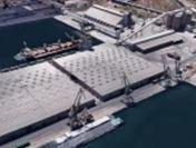 25.952 tone azotat de amoniu sunt depozitate temporar în portul Constanța