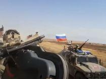 Rusii isi fac de cap in Siria – Video vezi cum provoaca o patrula de americani