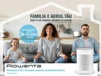 Purifica #AerulFamilieiTale cu Pure Air Genius de la Rowenta