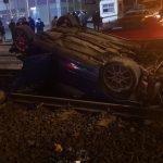 București: Circulația tramvaielor este oprită pe Șoseaua Virtuții, după un grav accident rutier