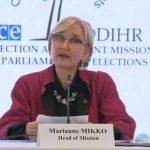 Președintele Iohannis, criticat de misiunea OSCE pentru susținerea fățișă a PNL în campanie | AUDIO
