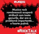 Moise Guran: Muzica rock românească acoperă strălucit cam toate genurile, dar are o problemă importantă… e foarte puțină