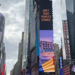 De Ziua Națională a României, o companie a pus steagul țării pe clădiri simbol din New York, Tel Aviv și Londra  | VIDEO