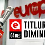 4 decembrie 2020: Titlurile dimineții, la Europa FM