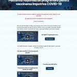 Precizările STS legate de funcționarea Platformei naționale de programare pentru vaccinarea împotriva COVID-19