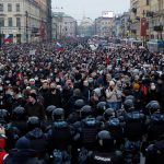 Noi proteste în Rusia. Mii de persoane, arestate