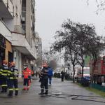Bărbatul care a incendiat o casă de schimb valutar din Ploiești a fost prins | AUDIO