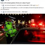 Alcoolemie-record pentru un tânăr din Cluj, prins fără permis cu o mașină neînmatriculată
