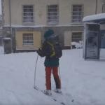 Patru persoane au murit în Spania în furtuna de zăpadă Philomena | VIDEO