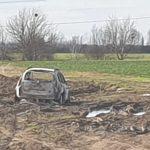 Un cadavru a fost descoperit într-o mașină carbonizată, în Timiș | AUDIO