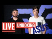 LIVE – ASUS Global + Unboxing & Prim Contact