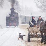 Mocănița Huțulca, parte dintr-un basm de iarnă | GALERIE FOTO