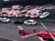 Explozie la sediul central al Lidl din Neckarsulm