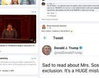 Diana Şoșoacă reia o memă cu Donald Trump, iar mulți urmăritori cred mesajul real