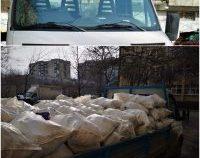 Primele mașini confiscate în București pentru transport ilegal de deșeuri provenite din construcții