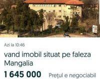 Spitalul Municipal Mangalia, scos la vânzare pe internet