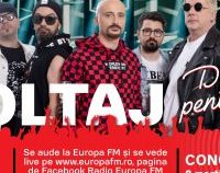 8 MARTIE, 08:08 PM – Voltaj deschide seria evenimentelor Europa FM Live în Garaj