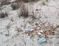 Cantitate record de deșeuri descoperite de voluntarii Mare Nostrum pe o plajă din Rezervația Biosferei Delta Dunării (Audio)