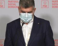 Președintele PSD, cu banii ieșiți din buzunar la conferința de presă   AUDIO