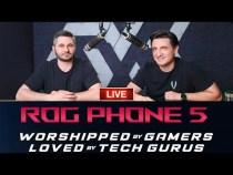 LIVE – ASUS ROG PHONE 5 – Lansare & Unboxing