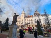 Incendiu la Prefectura din Suceava | AUDIO