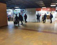 București: A început evacuarea spațiilor comerciale de la metrou
