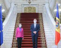 Întâlnire Klaus Iohannis-Maia Sandu: România continuă să sprijine Republica Moldova