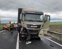 Accident cu șase persoane rănite, pe șoseaua de centură a Bacăului