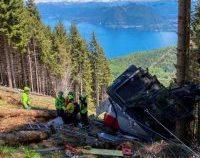 Italia: Trei persoane au fost reținute, după accidentul de telecabină produs în apropiere de lacul Maggiore