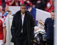 Starea fotbalistului danez Christian Eriksen este stabilă, anunță medicii