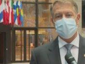 Klaus Iohannis: România a oprit pandemia prin campania de vaccinare   AUDIO