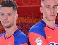 FCSB i-a recrutat pe Burlacu şi Mamut, cedându-l pe Vînă